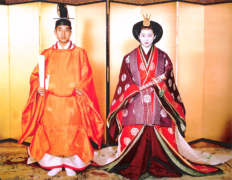 Prince Akihito & Michiko Shoda Wedding, Aprile 1959
