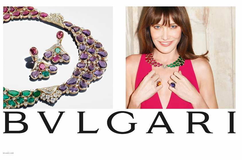 Bulgari Musa Collection - Carla Bruni Testimonial