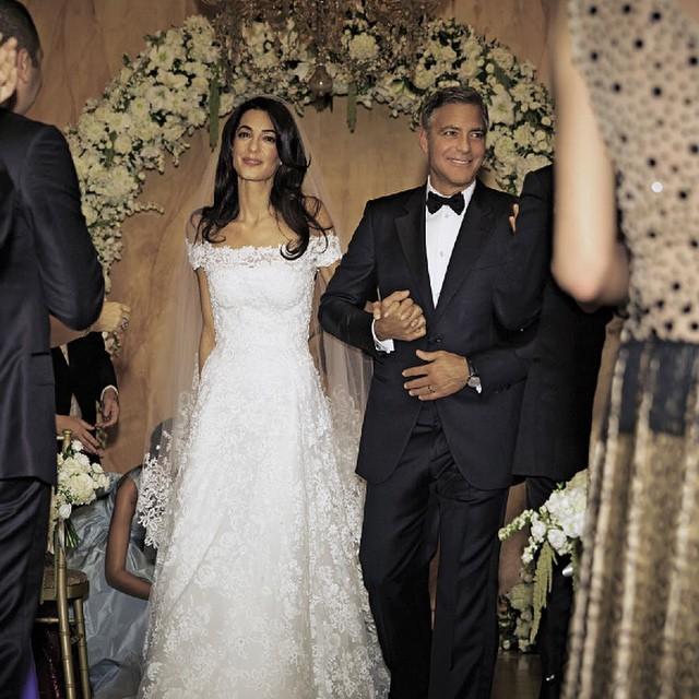 Amal e George Clooney sposi