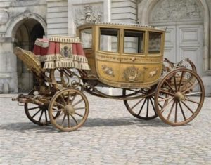 Sposa in carrozza - la berlina