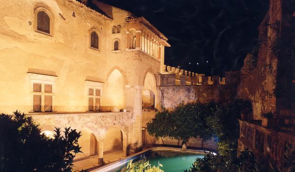 Ricevimento matrimonio - Castello Lancellotti - piscina