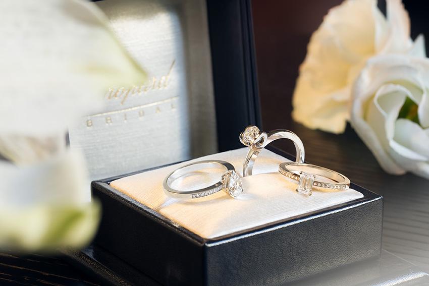 Chopard, wedding rings