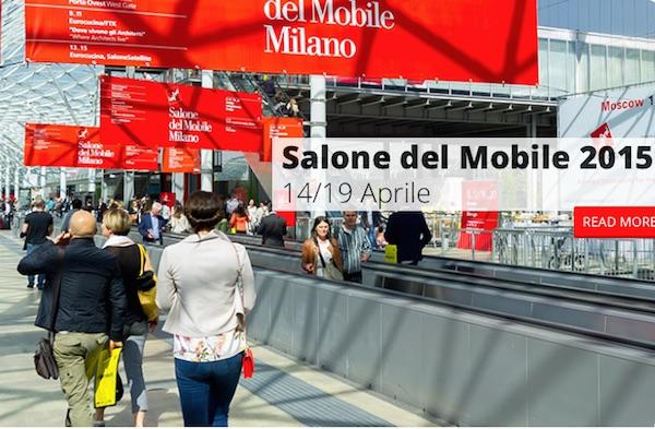 Il salone del mobile 2015 a milano dal 14 al 19 aprile for Il salone del mobile