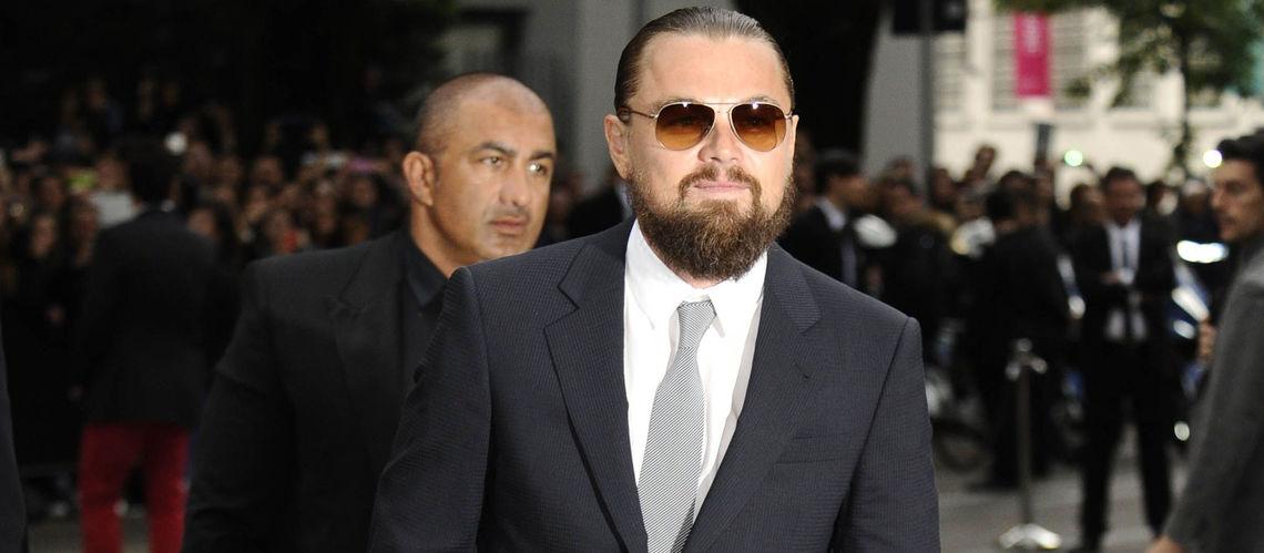 Leonardo Di Caprio in smoking Giorgio Armani