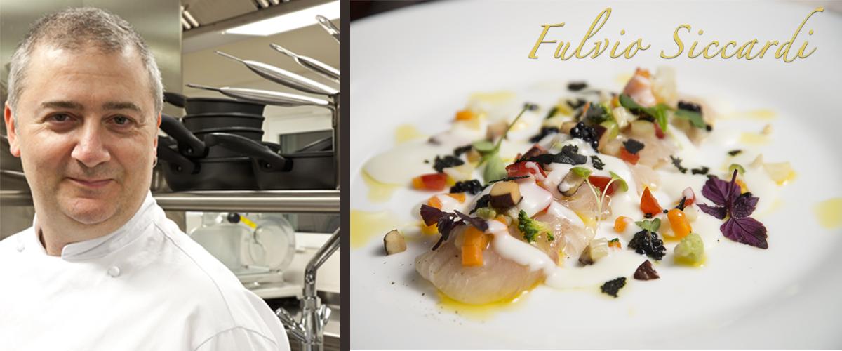 Fulvio Siccardi, Executive Chef del ristorante Da Noi In del Magna Pars Suites di Milano