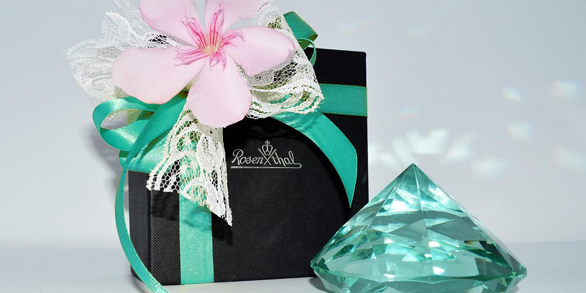Bomboniere color Tiffany - ph. courtesy Scopelliti