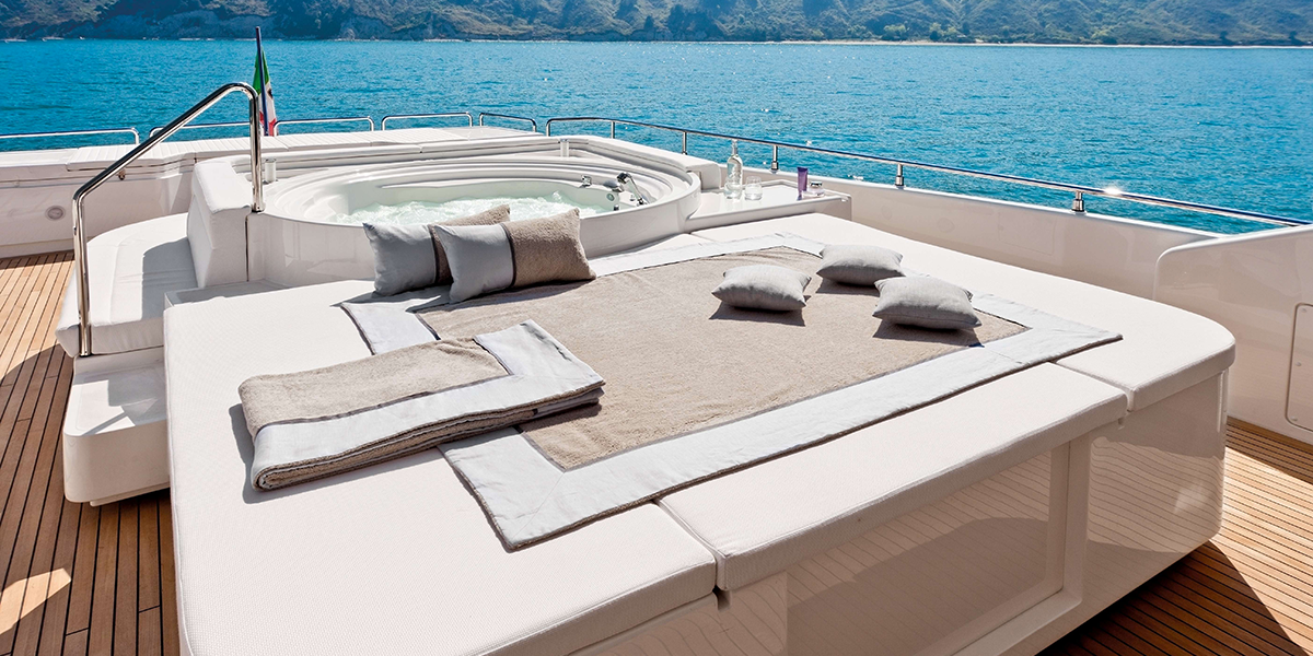 yacht extraslusso, come location per il matrimonio