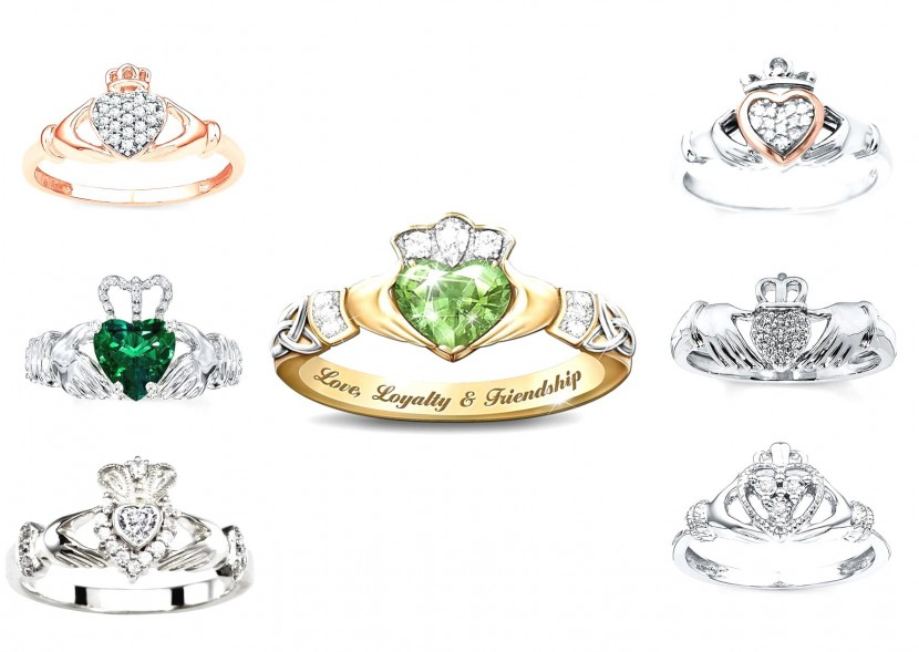 CLADDAGH RING: TESORO D'AMORE IRLANDESE