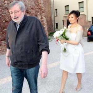 Francesco Guccini e moglie