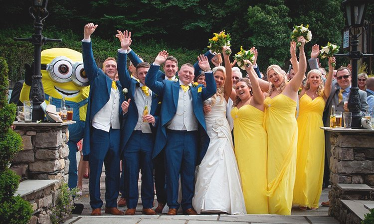 minion wedding