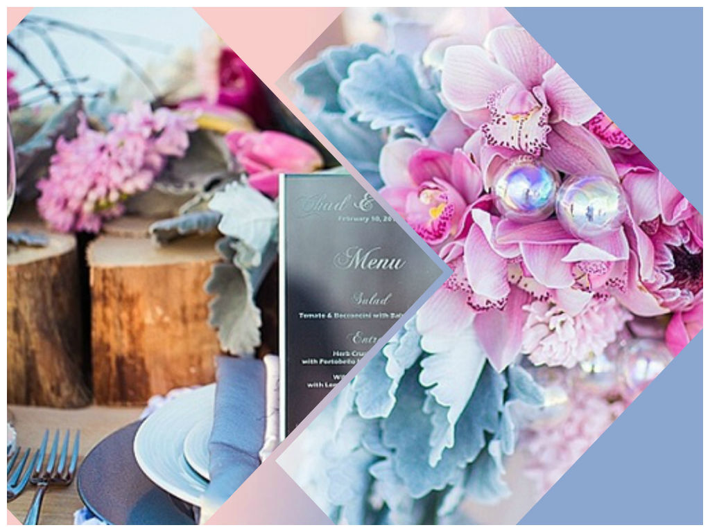 Rosa quarzo e azzurro serenity per i matrimoni 2016
