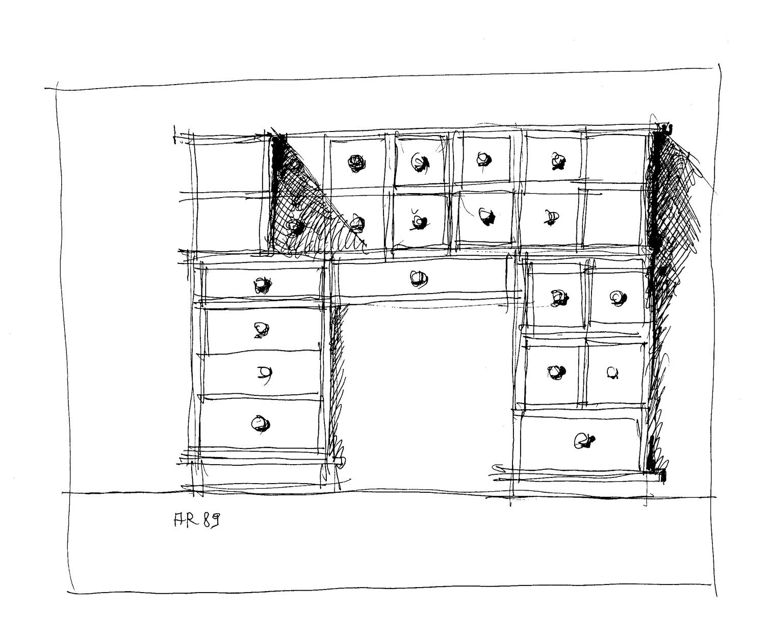molteni&c - scrivania papyro