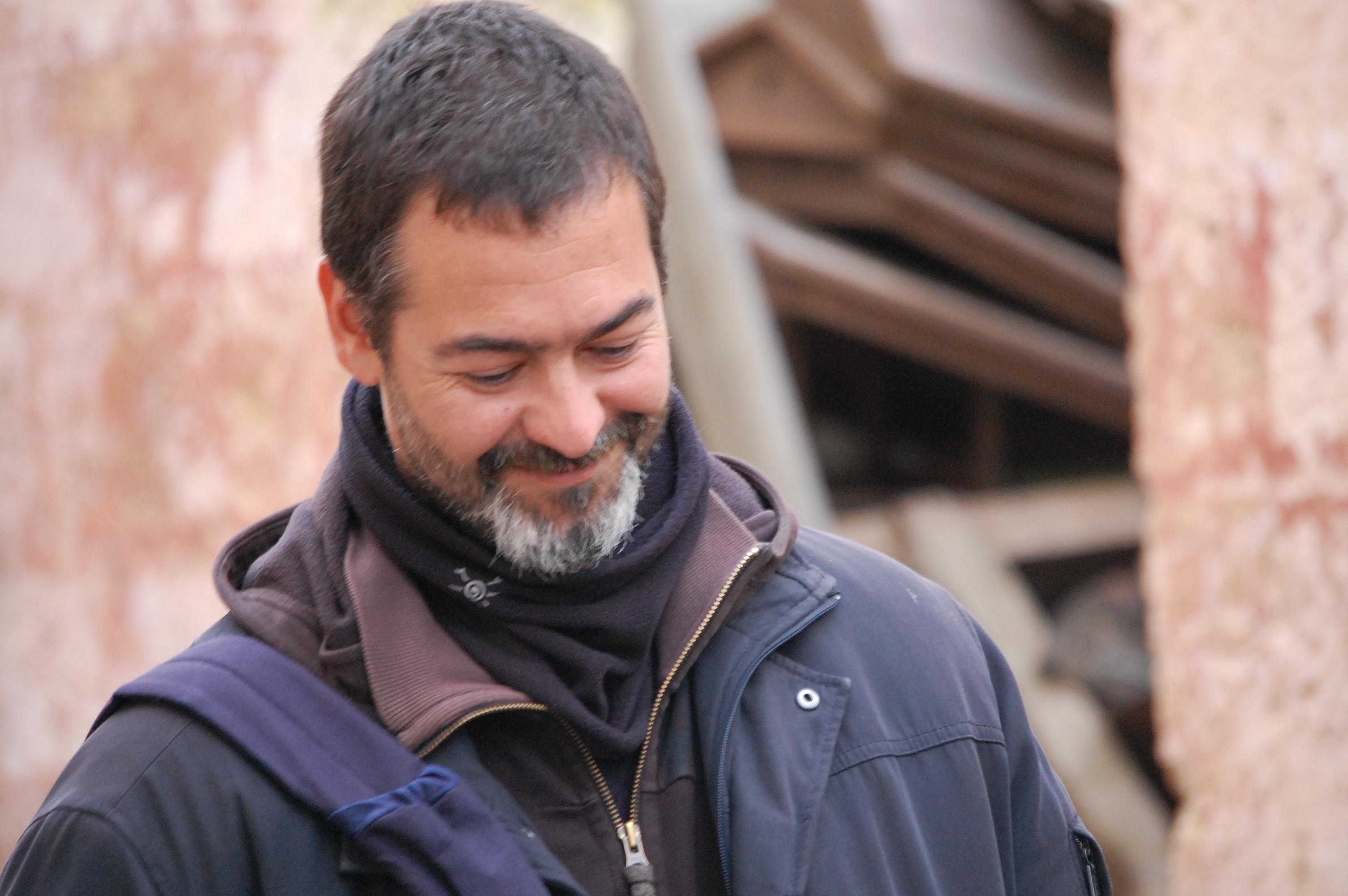 Riccardo Brun scrittore e sceneggiatore del film Zeta