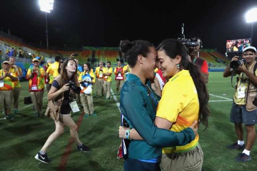 PROPOSTA DI MATRIMONIO LGBT A RIO 2016