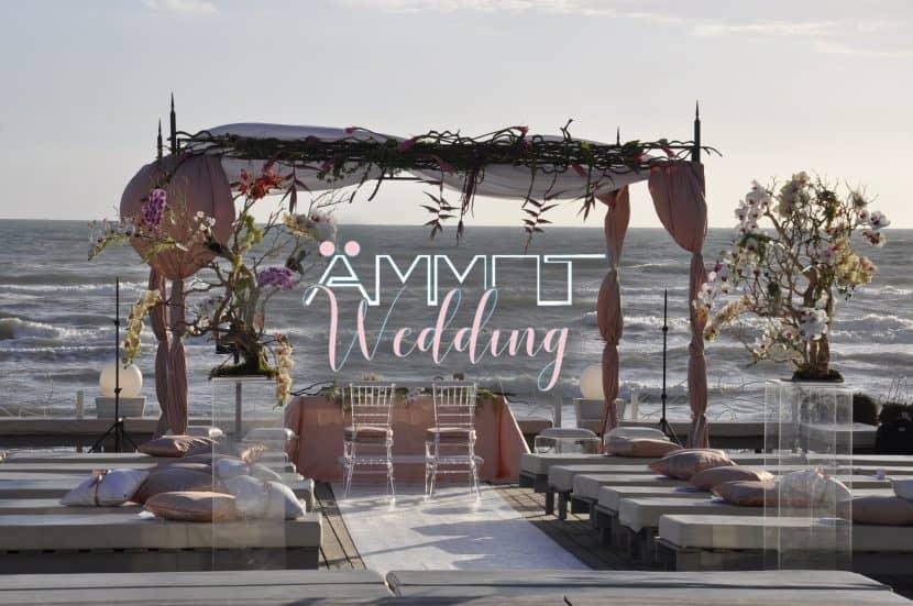 Ammot, l'emozione indescrivibile di un matrimonio sulla spiaggia