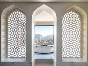 Sala da bagno con Jacuzzi - Royal Mountain villa - Anantara Al Jabal Al Akhdar Resort