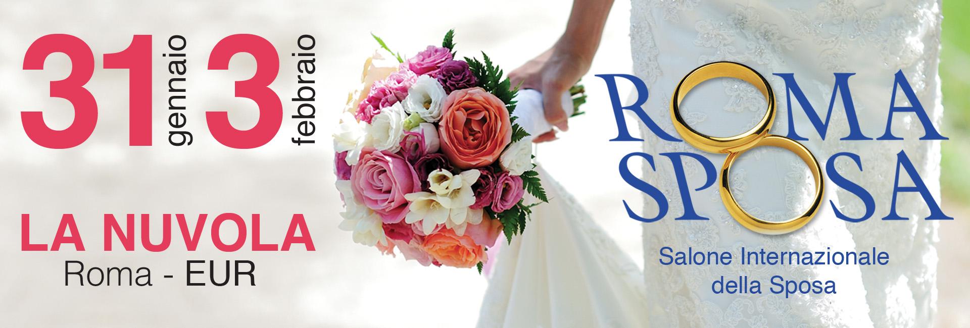 Bouquet Sposa Roma.Roma Sposa 2019 Dal 31 Gennaio Al 3 Febbraio Presso La Nuvola