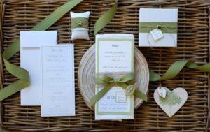 Dettagli matrimonio green