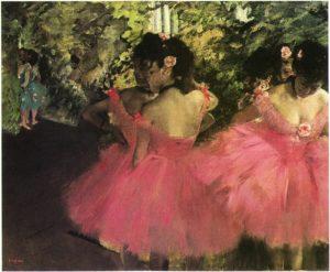 Dancers In Pink - Edgar Degas