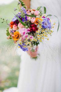 bouquet sposa - fiori di campo