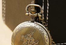 Alice nel Paese Delle Meraviglie - orologio bianconiglio