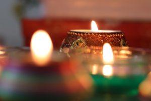 candele per il matrimonio eco friendly