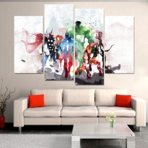 Canvas Avengers