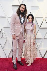 oscars 2019 - Jason Momoa e Lisa Bonet - Fendi