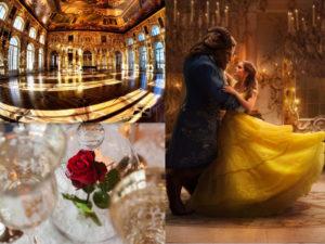 Addobbi matrimonio a tema La Bella e la Bestia