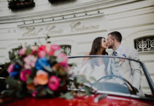 decorazioni auto matrimonio - courtesy photoweddingstudio
