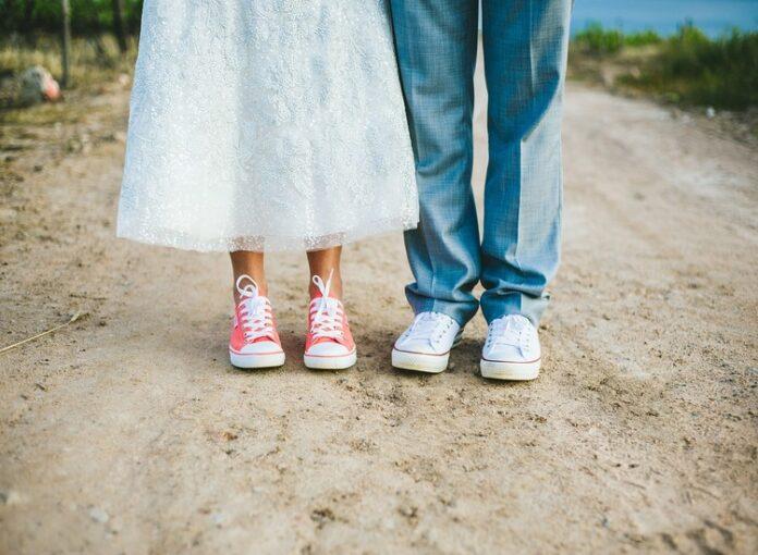 Scarpe basse per la sposa